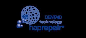 logo hap repair_azul
